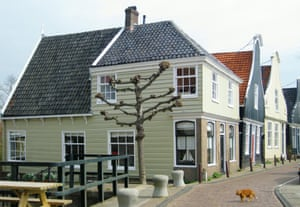 Nieuwendammerdijk area of Amsterdam