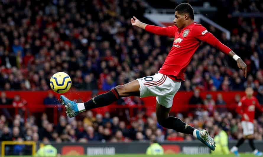 Manchester United's Marcus Rashford says he has been inspired by his won childhood 'to impact the next generation in a positive way'.