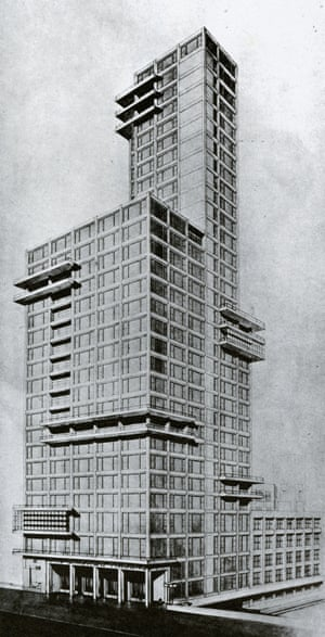 Walter Gropius and Adolf Meyer's proposal.