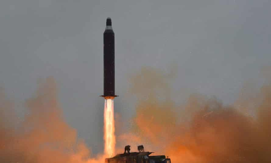 North Korea tests a surface-to-surface medium