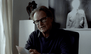 Escalating anxiety … Sam Shepard in Never Here.