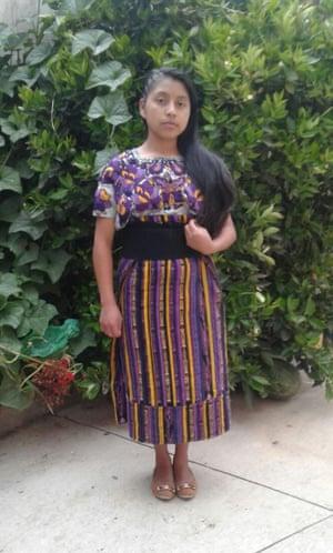 Claudia Patricia Gómez González, 20, who was shot dead about a week ago.