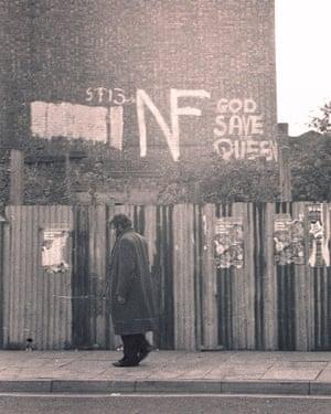 National Front graffiti in Lewisham