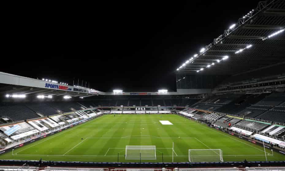 St James' Park, Newcastle. The Saudi-led takeover has been rumbling for a while with Mike Ashley's QC saying leading clubs had lobbied the Premier League to kill the takeover.