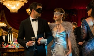 'Dakota Johnson in particular deserves a parade through the center of town for somehow carrying this ludicrous material on her shoulders' ... Fifty Shades Darker.