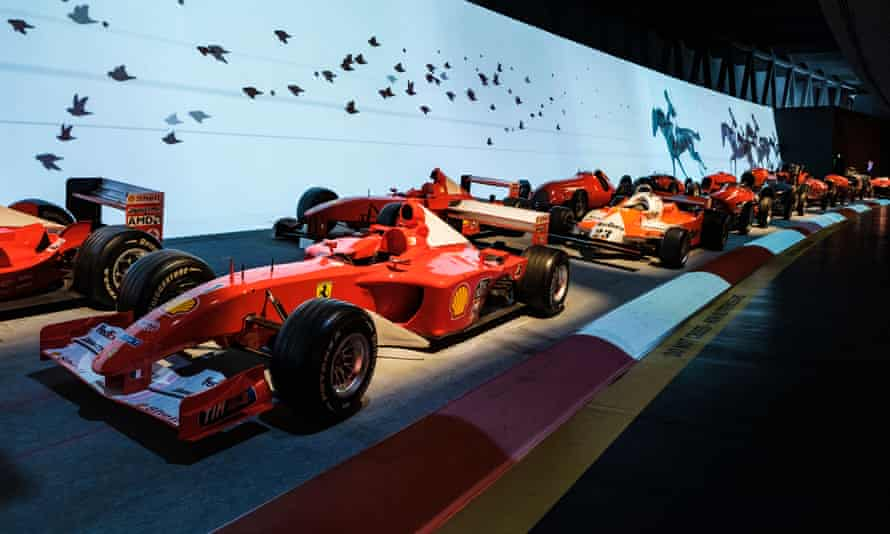 Ferrari F1 carsThe National Automobile Museum, Turin.