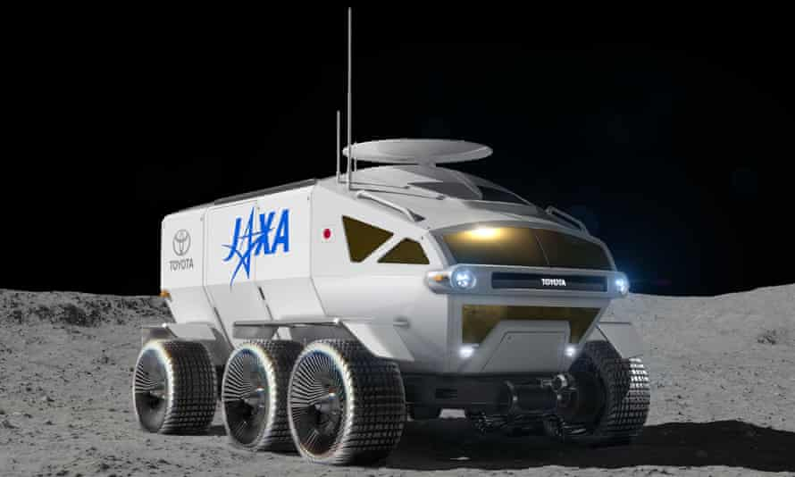 Toyota's six-wheeled rover concept