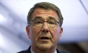 US secretary of defence Ash Carter: Iraqi army 'showed no will to fight'.