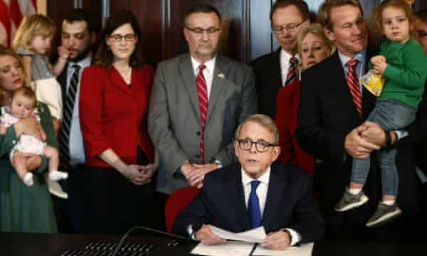 Ohio bill orders doctors to 'reimplant ectopic pregnancy' or face 'abortion murder' charges | Ohio | The Guardian