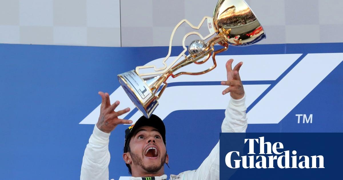 Lewis Hamilton wins Russian F1 Grand Prix in Mercedes one-two finish