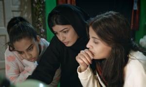 Mila Al Zahrani in The Perfect Candidate.