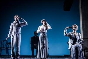 Moscow Pushkin Drama theatre's 2011 production with Alexander Petrov, Natalya Reva-Ryadinskaya and Victoria Isakova.
