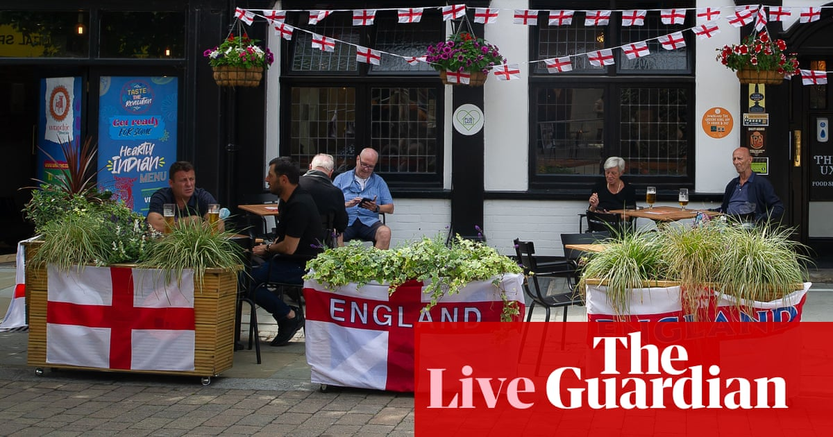 Coronavirus live: police urge ticketless England fans not to travel to London; Fukushima to ban spectators from Olympic events