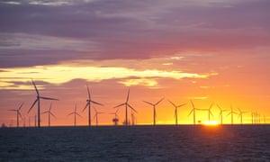 Walney Offshore windfarm