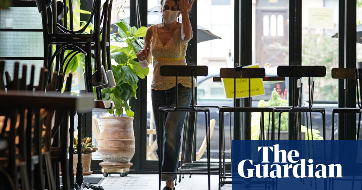 'I'd still prefer to sit outside': restaurants open indoor dining to hesitant New Yorkers - The Guardian thumbnail