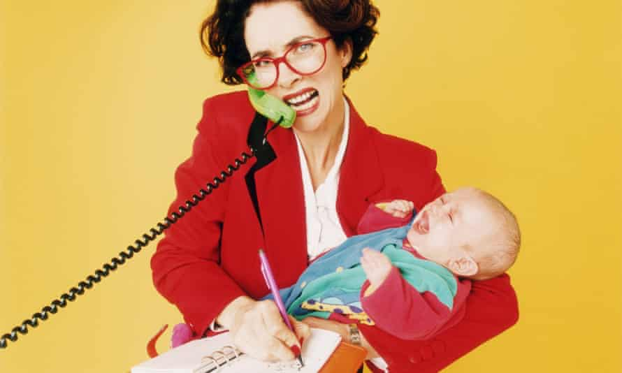 A woman with two children who works full-time will be 40% more stressed than one without children.