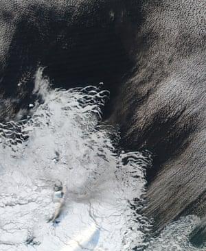 Mount Sourabaya on Bristol Island
