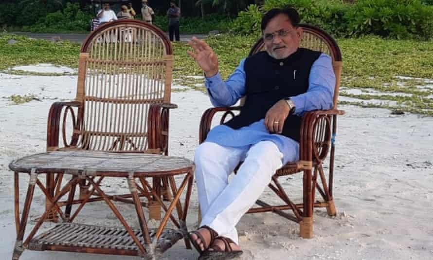 Shri Praful Patel, administrator of UT of Lakshadweep, India