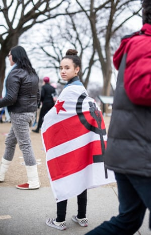 """Dakota age 15 from DC """"I march so we can have a voice."""""""