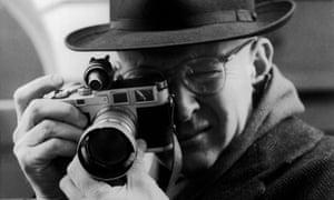Henri Cartier Bresson in 1957.