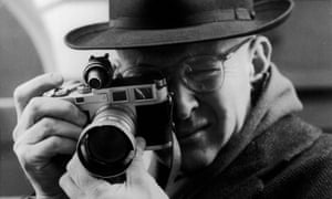 Henri Cartier Bresson in 1957.
