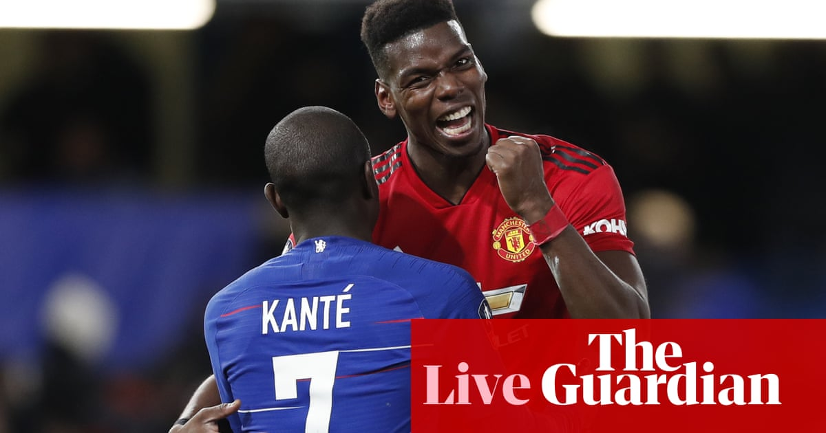 Chelsea 0-2 Manchester United  FA Cup fifth round – as it happened ... f6e59acfd
