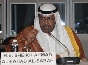 Sheikh Ahmad Al-Fahad Al-Sabah, pictured in Bangkok in November 2014.