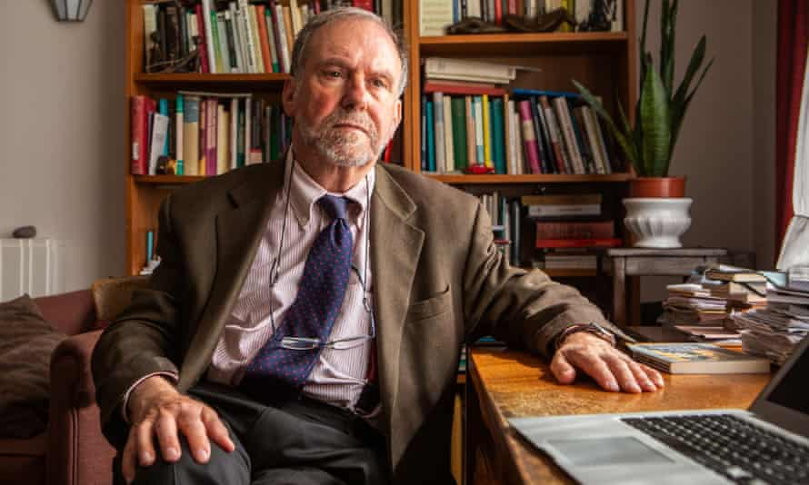Consultant psychiatrist David Bell in his office in London.