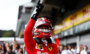 Charles Leclerc dedicated his first F1 win to Anthoine Hubert