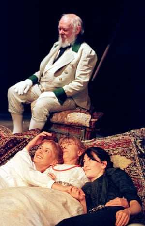 Michael Bryant, Charlotte Emmerson, Vanessa Redgrave and Eve Best at the National Theatre in 2000, directed by Trevor Nunn.