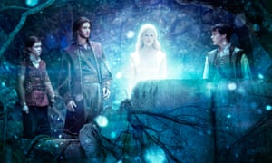 From left, Georgie Henley, Ben Barnes, Laura Brent, and Skandar Keynes in ,The Chronicles of Narnia: The Voyage of the Dawn Treader.