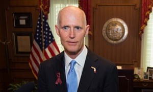 Rick Scott is accused by his Democratic opponent of systematically disassembling the state's environmental protections.