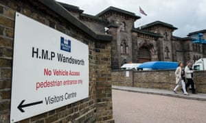 Wandsworth prison in south London