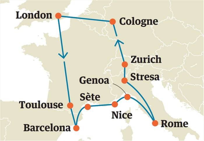 Five great Interrail itineraries across Europe | Travel