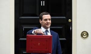 George Osborne outside No 10