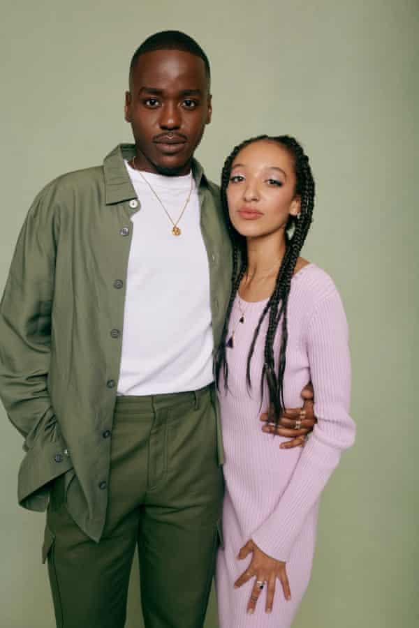 Ncuti Gatwa and Patricia Allison
