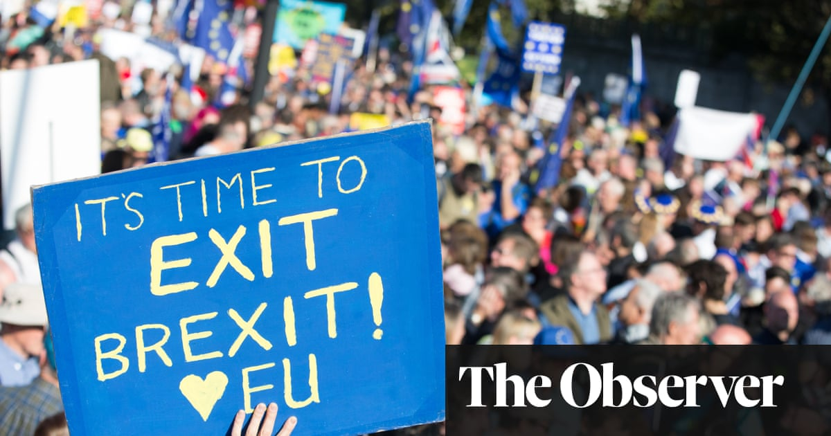 Remainers plan mass march and key vote in last days before Brexit
