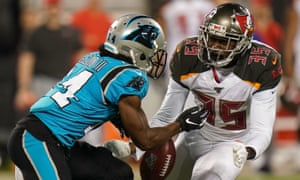 newest a726c 639fd Tampa Bay Buccaneers use goal-line stand to stuff Carolina ...