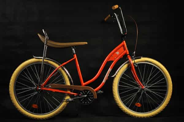Blast from the past: the iconic 'banana' seat and chopper-style handle bar Pegas bike