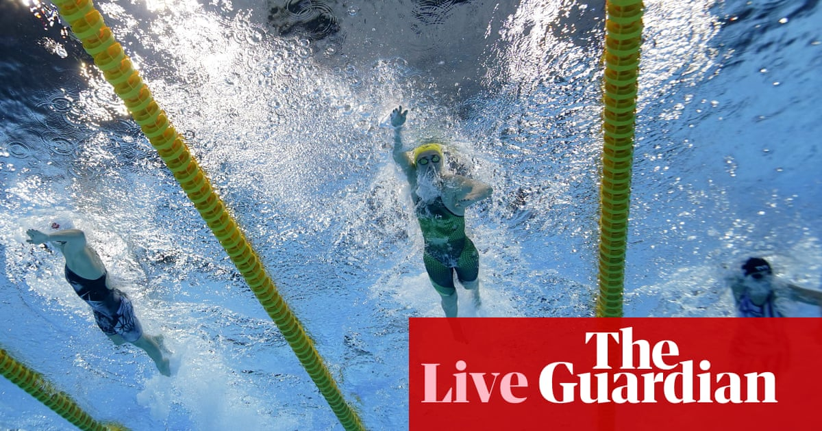 Tokyo 2020 Olympics: Titmus beats Ledecky, double rowing gold for Australia, cycling time trial and more – live!