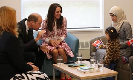 canada syria refugees british royals