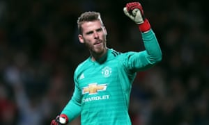 Manchester United want to agree a new deal with goalkeeper David de Gea.