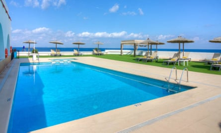 Pool at hotel roca bella, Formentera