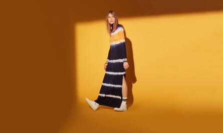 Tie-dye dress, Ninety Percent.