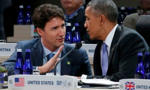 Barack Obama and Justin Trudeau agreed last month to cut methane emissions from the oil and gas industry by up to 45% from 2012 levels by 2025.