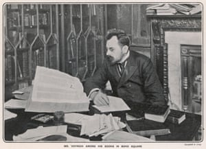 Bookseller Wilfrid Voynich.