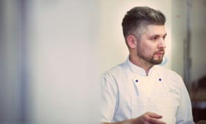 Chef Damian Wawrzyniak, who originally backed Brexit but has changed his mind.