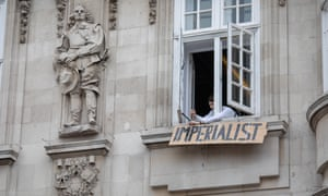 Goldsmiths students occupy Deptford Town Hall in a protest against racism