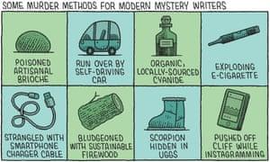 Some murder methods for modern mystery writers