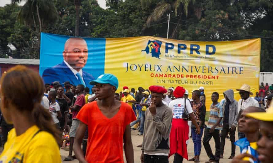 Democratic Republic of Congo's President Joseph Kabila birthday